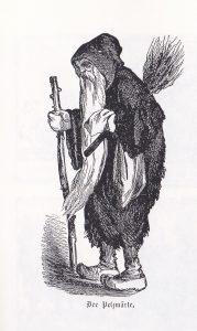 1863 illustration Der Pelzmärte