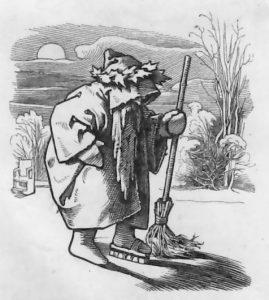 64 [de 1847] Herr Winter (moritz Von Schwind, Munchner Bilderbogen, 1847)