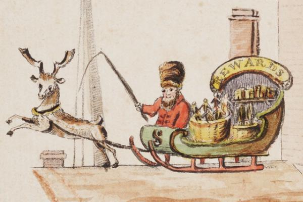 Original Illustration Santa Claus