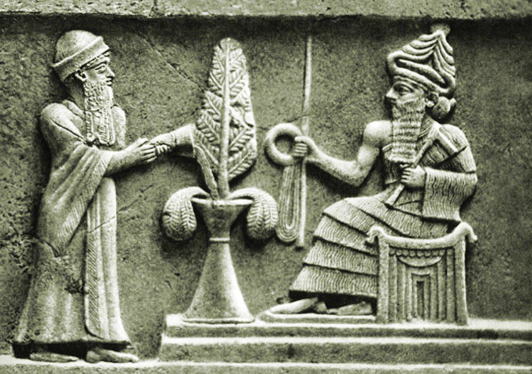 Mesopotamian Sun Gods An And Enka