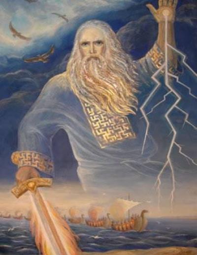 Painting Of Slavic God Perun 2