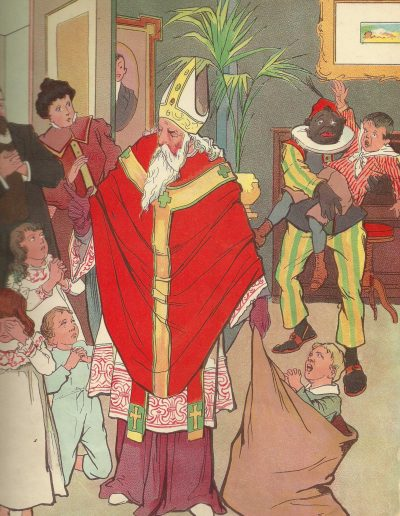 Zwarte Piet En Sinterklaas 1850