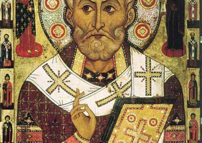 St. Nicholas Icon 1750