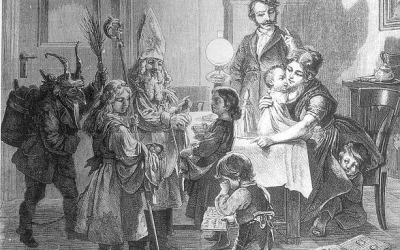 Der Niklo Abends Franz Kollarz 1869