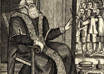 Father Christmas Josiah King The Examination And Tryal Of Father Christmas 1686