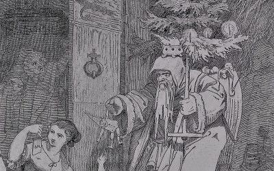 Herr Winter und die Kinder 1848