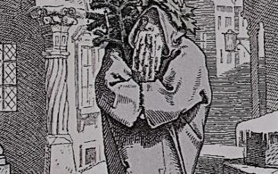 Herr Winter with tree 1847