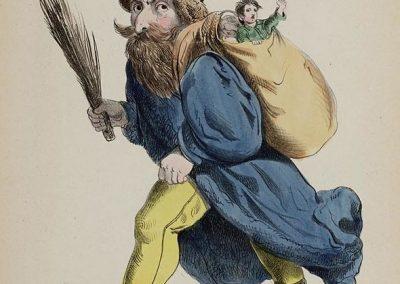 Knecht Ruprecht Or Pelzmarterl Franz Pocci Tante Keetje S Prentenboek 1854