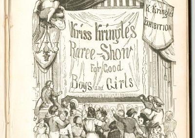 Kriss Kringle Kriss Kringle S Raree Show (1847