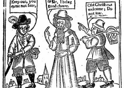 Old Christmas John Taylor 1652