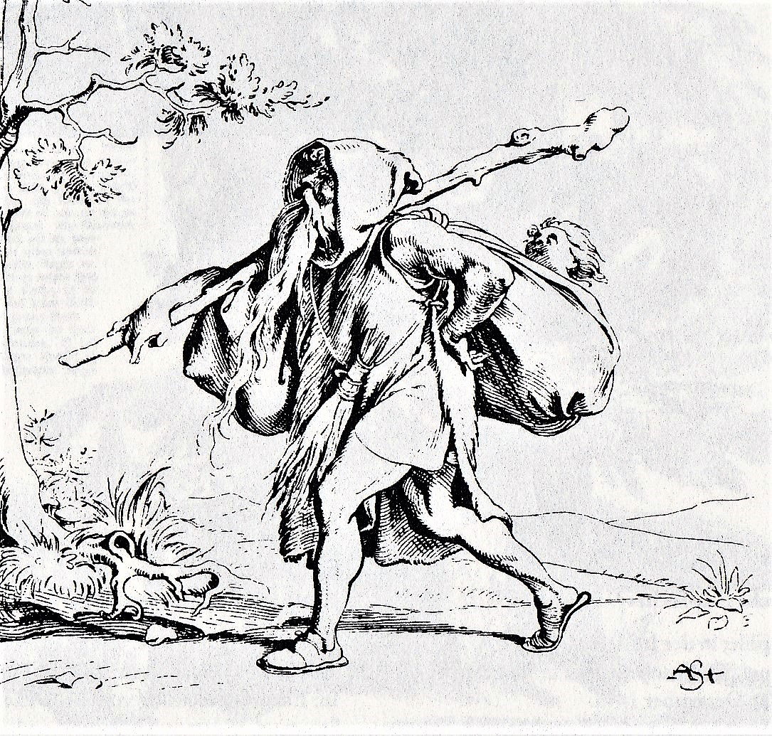 Sanct Nicolaus Alexander Strahuber 1849