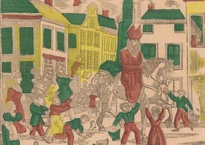 Sint Nicolaas Te Paard Gezeten Ja Aldag 1833