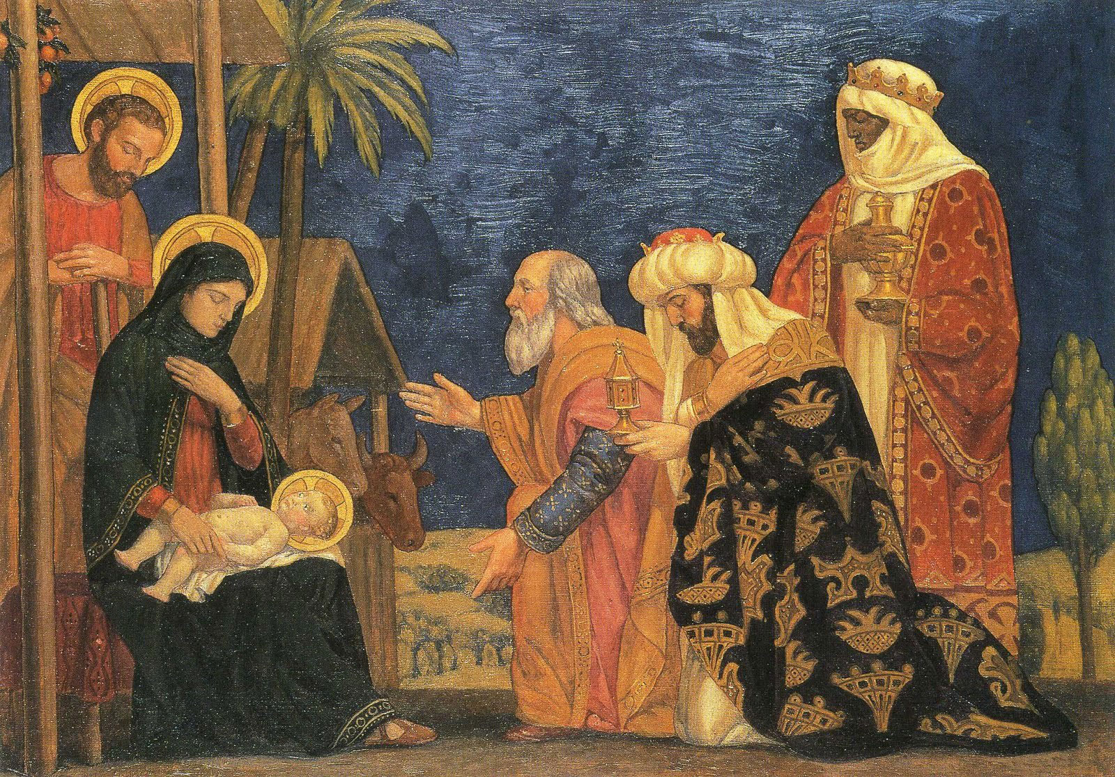 Three Kings Renaissance Era Painting
