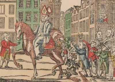 Ziet Bisschop Niklaas Sint Kindren Hier Te Paard 1806