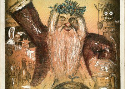 Father Christmas Phiz 1842