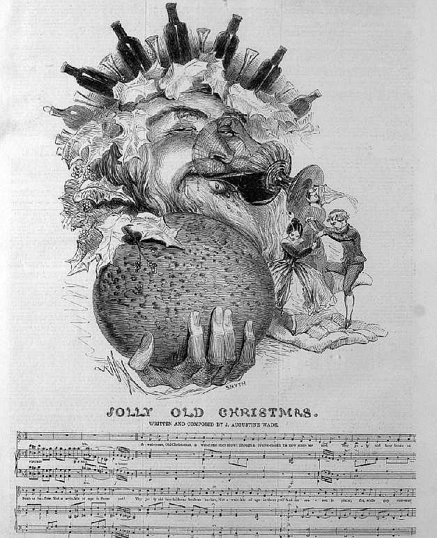 Jolly Old Christmas Illustrated London News 1844