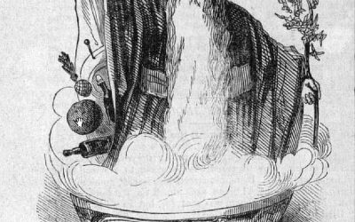 Old Christmas in Wassail Bowl 1842