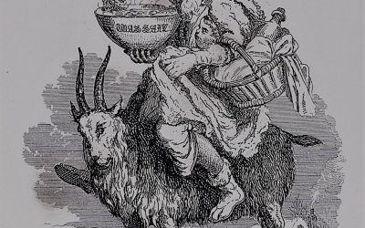 Old Christmas on Goat 1837