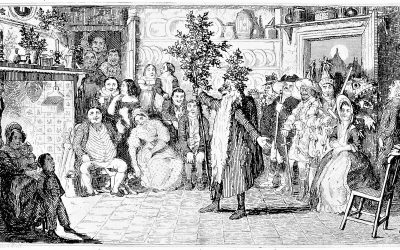 Old Christmas with Mummers 1837