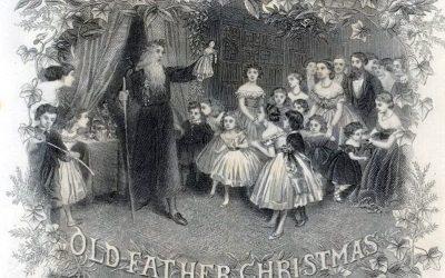 Old Father Christmas 1867