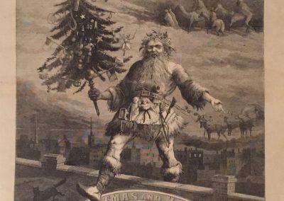 Santa Claus Harper S Weekly Cover January 2 1869