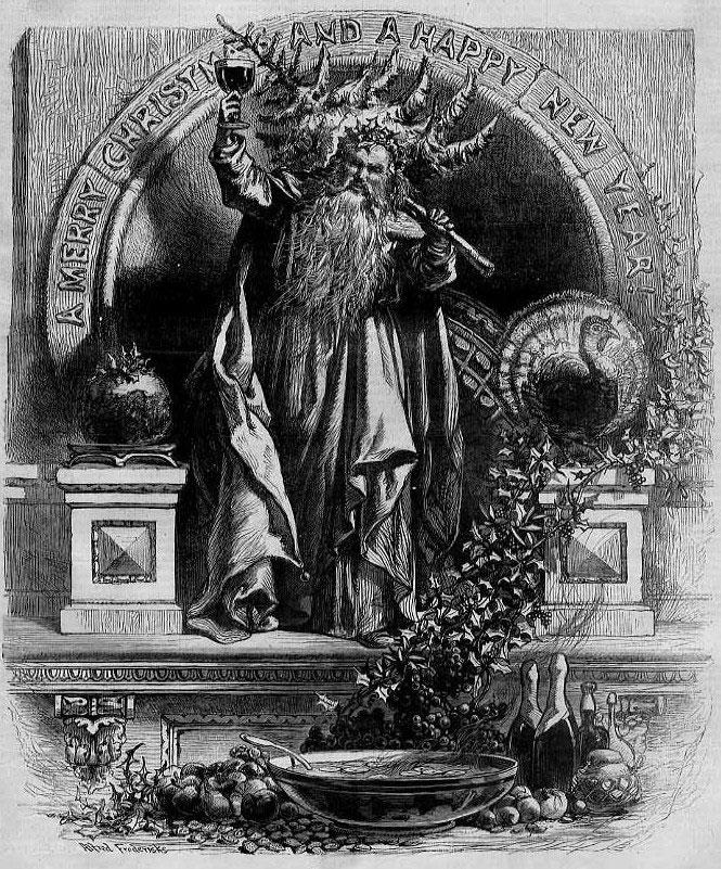 Santa Claus Harpers Weekly December 31 1870