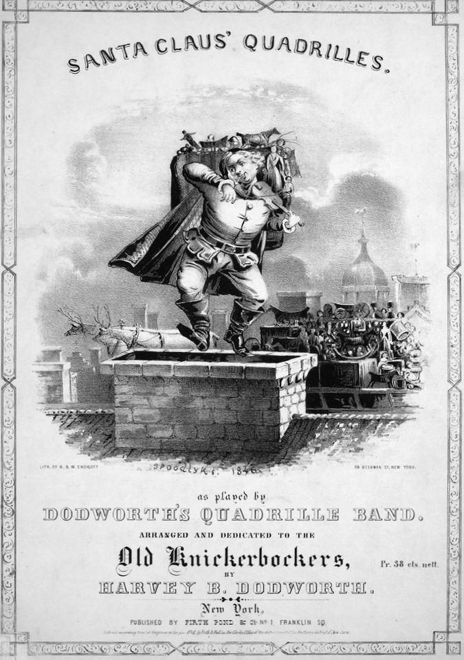 Santa Claus Spoodlyks Santa Claus Quadrilles 1846