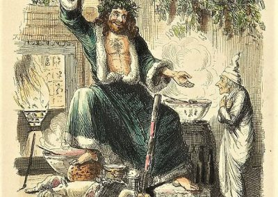 Scrooge S Third Visitor John Leech A Christmas Carol 1843